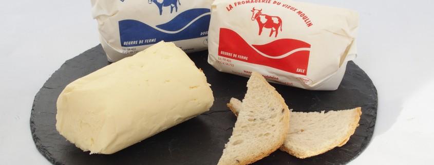 Beurre (salé ou doux)